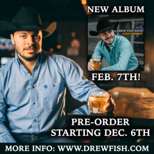 New Drew Fish Band Record Coming February 7th