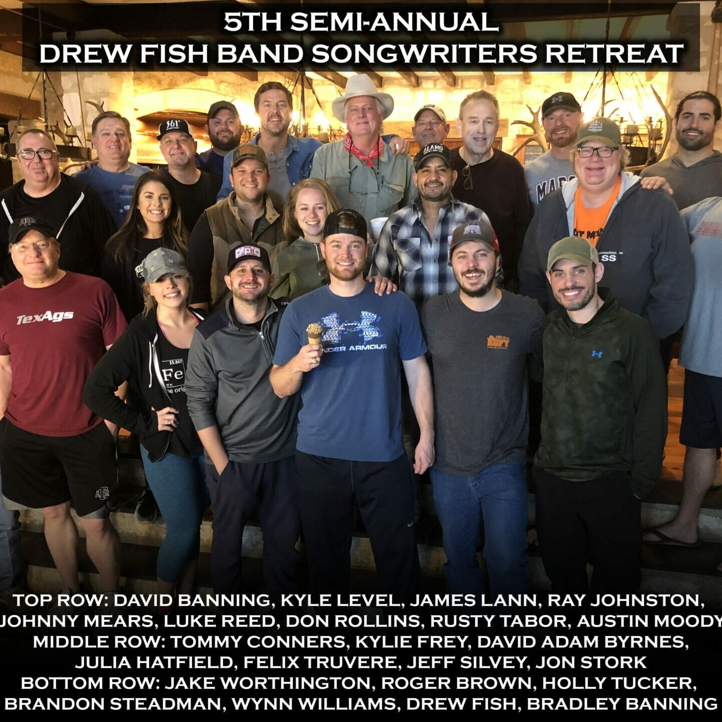 5th DFB Songwriters Retreat